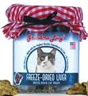 Grandma Lucy's Freeze-Dried Liver Cat Treats – 4oz